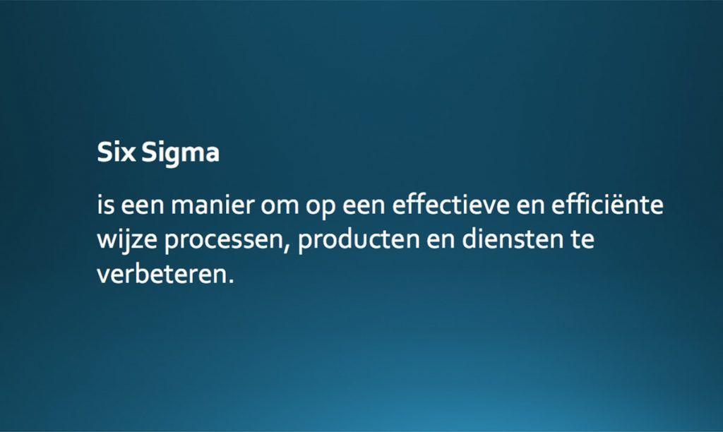Wat is Six Sigma - een kort overzicht